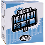 BG Quick Cure™ Headlight Restoration Kit