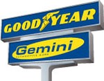 Goodyear Gemini Sign