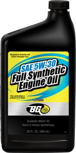 BG 73732 | BG SAE 5W-30 Synthetic Engine Oil