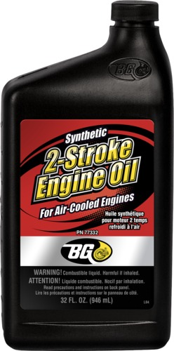 BG 77332 | BG Synthetic 2-Stroke Engine Oil for Air-Cooled Engines