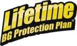 BG Lifetime BG Protection Plan logo | BG Mass Air Flow Sensor Cleaner