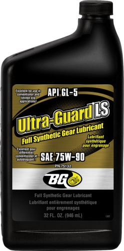 BG 75132 | BG Ultra-Guard® LS Full Synthetic Gear Lubricant