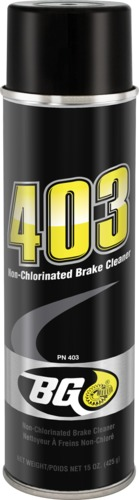 BG 403 | BG 403 Non-Chlorinated Brake Cleaner