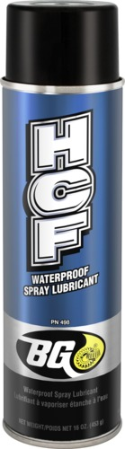 BG 498 | BG HCF Waterproof Spray Lubricant