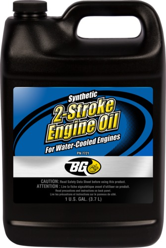 BG 7721 | BG Synthetic 2-Stroke Engine Oil for Water-Cooled Engines