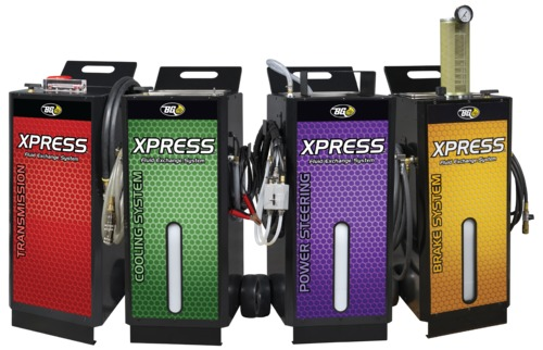BG Xpress Machines | New, compact service equipment!