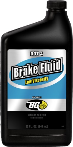 BG 841 | BG Low Viscosity DOT 4 Brake Fluid