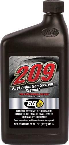 BG 209 | BG 209 Fuel Induction System Cleaner