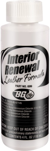 BG 699 | BG Interior Renewal® Leather Formula